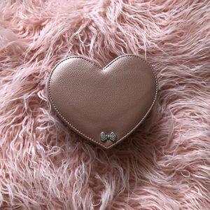 Pink Heart Jewelry Box